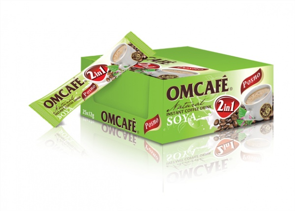 OMCAFÉ 2 in 1 Soya Natural