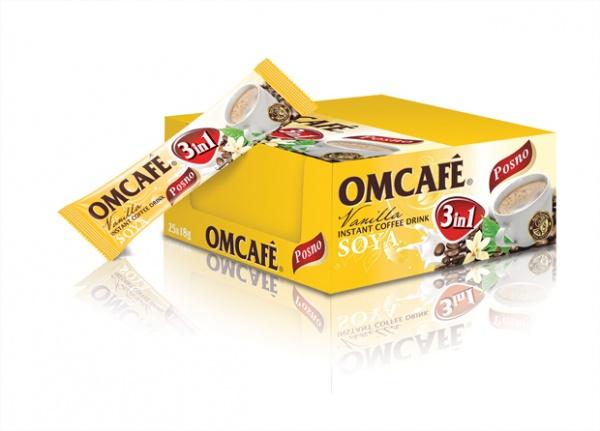 OMCAFÉ 3 in 1 Soya Vanilla